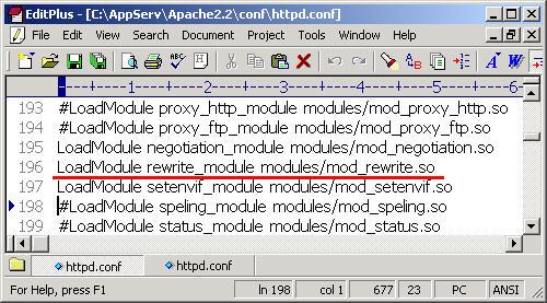 การแก้ไขของ AppServ