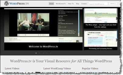 แหล่งรวมวีดีโอสอนการใช้งาน WordPress