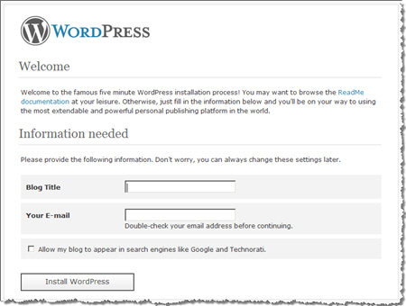 การติดตั้ง WordPress ด้วย EasyWP ขั้นตอนสุดท้าย